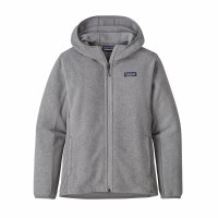 Patagonia W's Lightweight Better Sweater Fleece Hoody XS Feather Grey