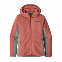 Patagonia W's Lightweight Better Sweater Fleece Hoody L Spiced Coral