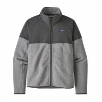 Patagonia W's Lightweight Better Sweater Shelled Fleece Jackets XL Feather Grey