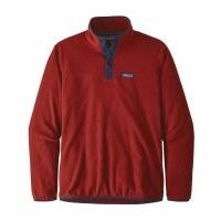 Patagonia M's Micro D Snap-T Fleece Pullover S Molten Lava