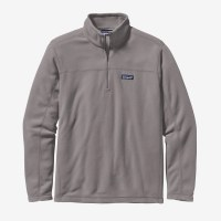 Patagonia Men's Micro D Pull Over  2X Feather Grey