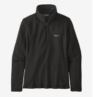 Patagonia W's Micro D 1/4 Zip Small Black