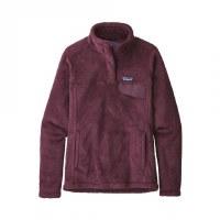 Patagonia W's Woolie Fleece Pullover S Deep Plum