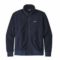 Patagonia Men's Woolyester Fleece Jacket Large Classic Navy