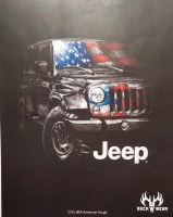 Buck Wear Inc Jeep American Tough S/S Tee S Black