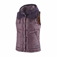 Patagonia W's Bivy Hooded Vest M Hyssop Purple