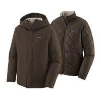 Patagonia M's Lone Mountain 3-in-1 Jacket Medium Logwood Brown