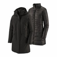 Patagonia W's Vosque 3 in 1 Parka  M Black