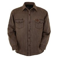 Outback Trading Company Loxton Jacket Medium Brown
