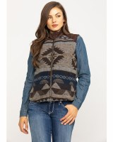 Outback Trading Company Maybelle Vest L Chocolate