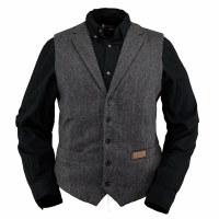Outback Trading Company Jesse Vest Medium Charcoal