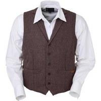 Outback Trading Company Jesse Vest L Walnut