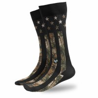 Buck Wear Inc Camo Stars & Stripes Sock OSFM Multi