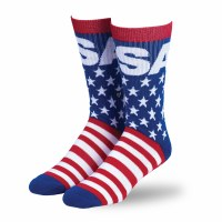 Buck Wear Inc Star and Stripes Sock OSFM Multi