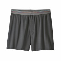 Patagonia Men's Sender Boxers Small Forge Grey