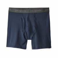 "Patagonia Men's Essential Boxers Briefs - 6"" Small New Navy"