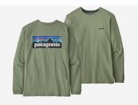 Patagonia Patagonia W's P-6 Logo Responsibili-T long sleeved XS SEGN