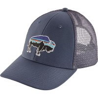 Patagonia Fitz Roy Bison LoPro Trucker Hat OS  Dolomite Blue