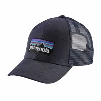 Patagonia P-6 LoPro Trucker Cap One Size Navy Blue w/Navy Blue