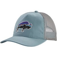 Patagonia W's Fitz Roy Bison Layback Trucker Hat OS Big Sky Blue
