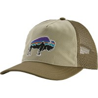 Patagonia W's Fitz Roy Bison Layback Trucker Hat OS Pelican