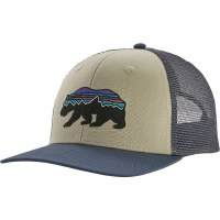 Patagonia Fitz Roy Bear Trucker Hat OS Pelican