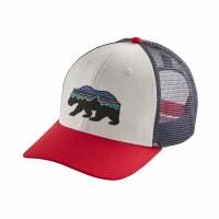 Patagonia Fitz Roy Bear Trucker Hat OS White