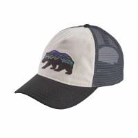 Patagonia Women's Fitz Roy Bear Layback Trucker Hat One Size White w/Black