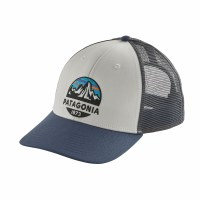 Patagonia Fitz Roy Scope LoPro Trucker Hat One Size White