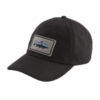Patagonia Fitz Roy Trout Patch Trad Cap One Size Black