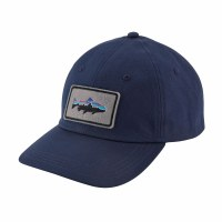 Patagonia Fitz Roy Trout Patch Trad Cap One Size  Classic Navy