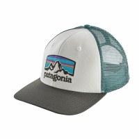 Patagonia Fitz Roy Horizons Trucker Hat One Size White