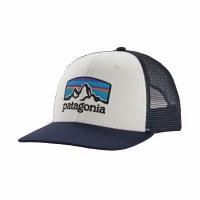 Patagonia Fitz Roy Horizons Trucker Hat One Size White w/ Classic Navy