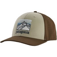 Patagonia Line Logo Ridge LoPro Trucker Hat OS Pelican