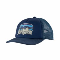 Patagonia Women's Fitz Roy Far Out Interstate Hat One Size Stone Blue