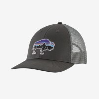 Patagonia Fitz Roy Bison Lopro Trucker C OS Forge Grey