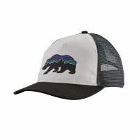 Patagonia Women's Fitz Roy Bear Layback Trucker Hat One Size White