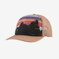 Patagonia W's Free Hand Fitz Roy Interstate Hat OS Scotch Pink
