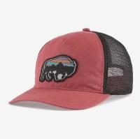 Patagonia Back for Good Layback Trucker Bison Hat  Rosehip Bison