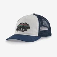 Patagonia Back for Good Layback Trucker Bear Hat  Tidepool Bear