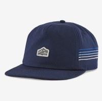 Patagonia Line Logo Ridge Stripe Funfarer Hat  New Navy