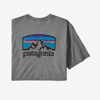Patagonia M's Fitz Roy Horizons Responsibili-Tee M Gravel Heather
