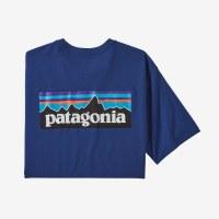 Patagonia M's P-6 Logo Responsibili-tee M Superior Blue