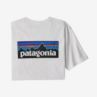Patagonia M's P-6 Logo Responsibili-tee 2X White