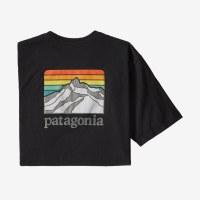 Patagonia M's Line Logo Ridge Pocket Responsibili-Tee XL Black