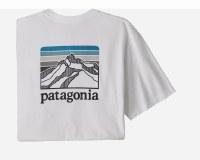 Patagonia M's Line Logo Ridge Pocket Responsibili-Tee XL White