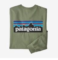 Patagonia M's L/S P-6 Logo Responsibili-Tee S SEGN