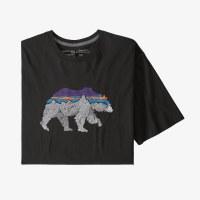 Patagonia Men's Back for Good Organic Cotton T-Shirt S Black w/Bear