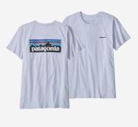 Patagonia Women's P-6 Logo Organic Crew T-Shirt L BEU