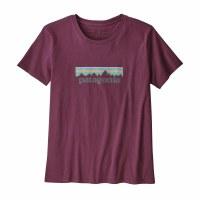 Patagonia Women's Patel P-6 Logo Organic Cotton Crew T-Shirt Large Light Balsamic